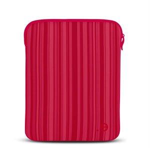 Image of   be.ez LA robe Allure Red Kiss til alle Apple iPads - rosa stribet