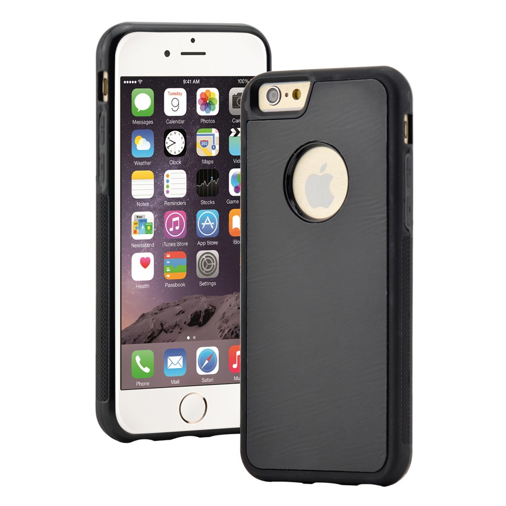 Billede af Apple iPhone 6/6s MYFONLO Anti-Gravity Cover - Sort/æble