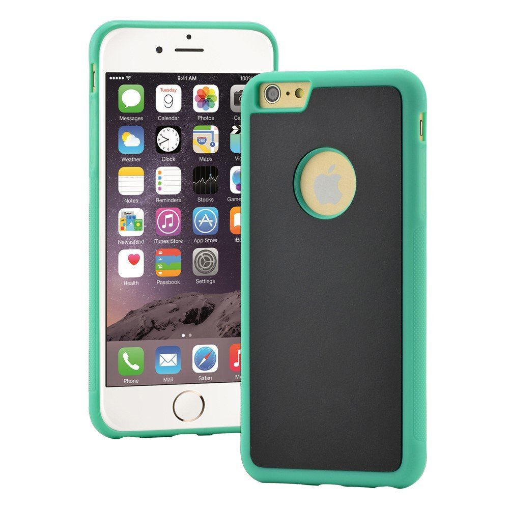 Image of   Apple iPhone 6/6s MYFONLO Anti-Gravity Cover - Grøn/æble