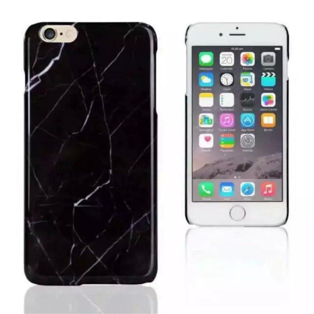 Image of Apple iPhone 6 Plus/6s Plus InCover Marmor Plastik Cover - Sort