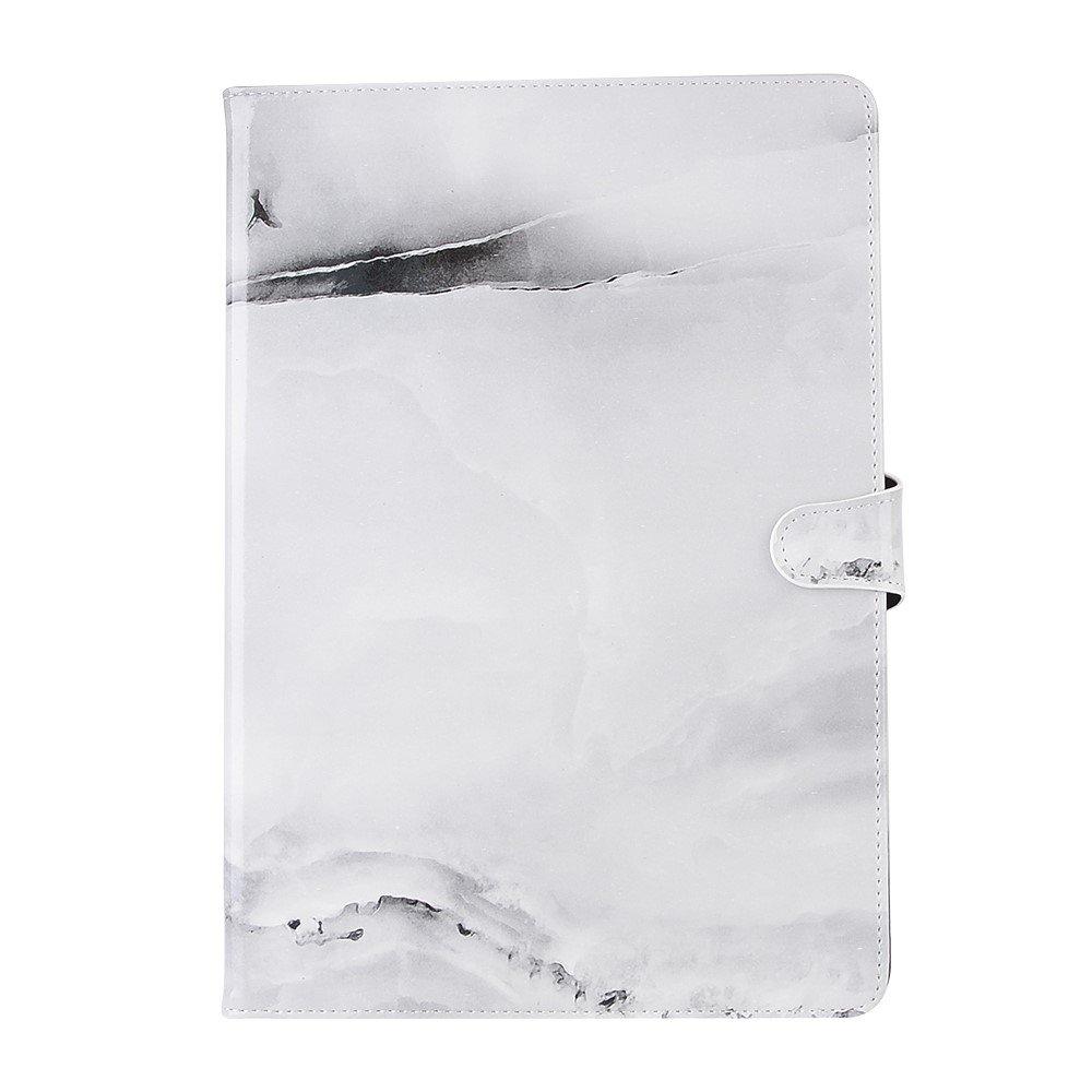 Billede af Apple iPad Air 2019 / iPad Pro 10.5 PU læder Flipcover m. Kortholder - Grå Marmor
