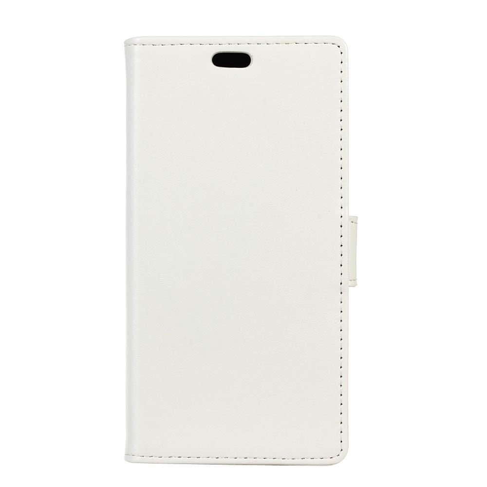 Image of   Apple iPhone Xs Max PU Læder Flip Cover m. Stand og Kortholder - Hvid
