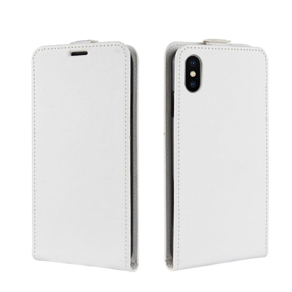 Image of   Apple iPhone XR PU Læder Flip Cover m. Kortholder - Hvid