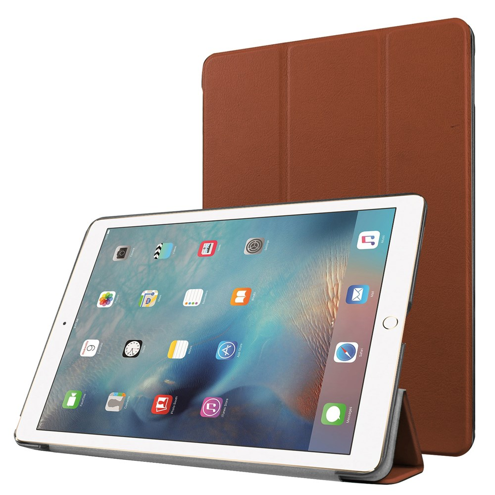 Apple iPad Pro 9,7 Læder Smart Cover Stand - Brun