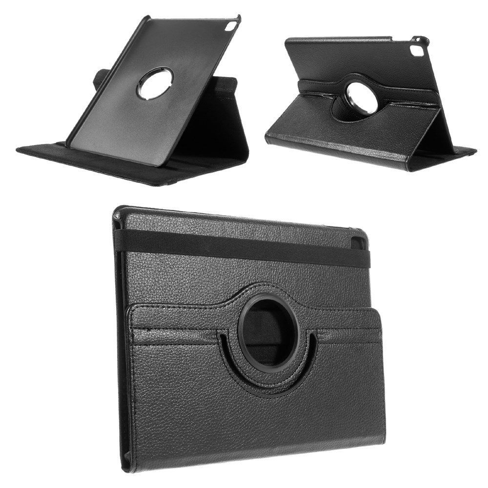 Image of Apple iPad Pro 9,7 Rotating Litchi Smart Cover Stand - Sort