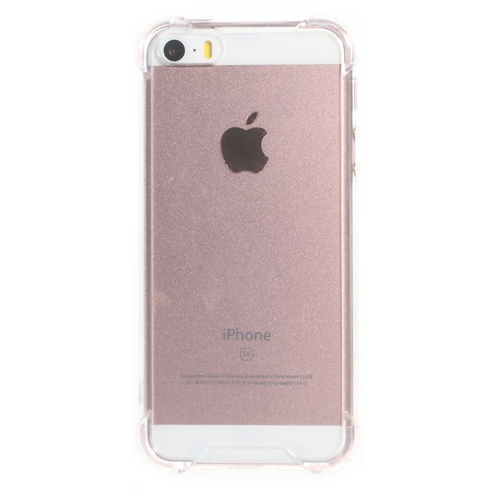 Image of   Apple iPhone 5/5s/SE Hybrid Anti-drop Cover - Gennemsigtig