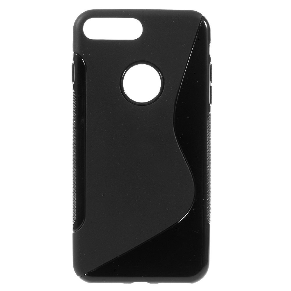 Billede af Apple iPhone 7/8 Plus InCover TPU S shape Cover - Sort