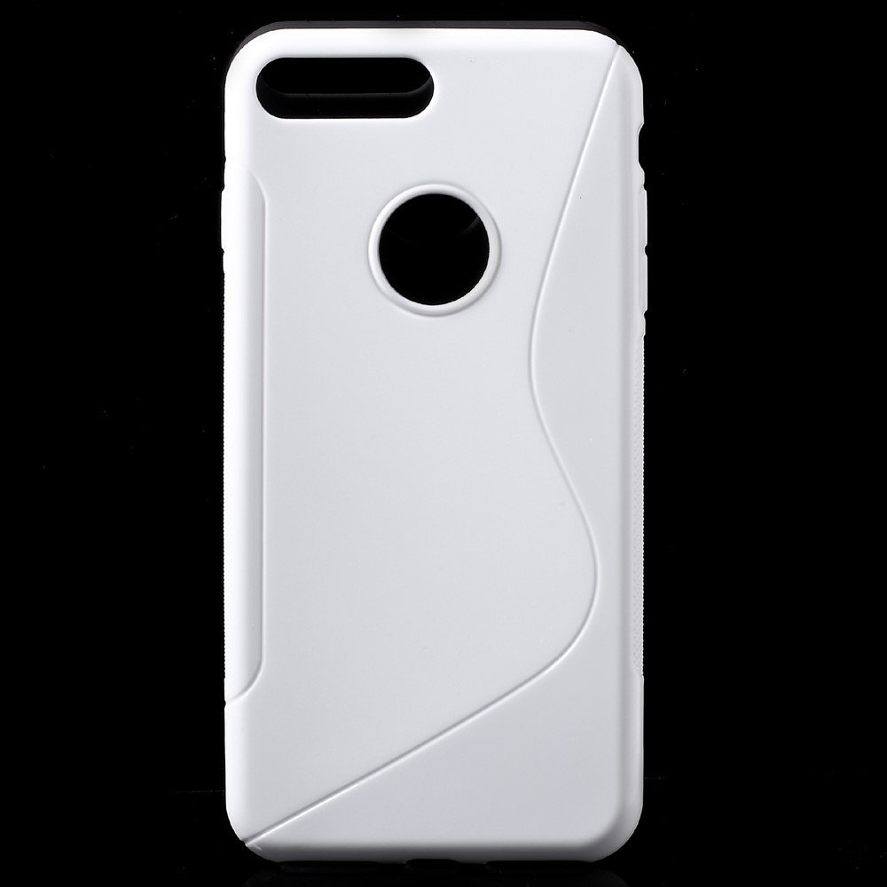 Image of   Apple iPhone 7/8 Plus InCover TPU S shape Cover - Hvid