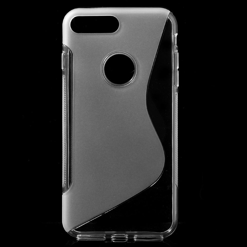 Image of   Apple iPhone 7/8 Plus InCover TPU S shape Cover - Gennemsigtig