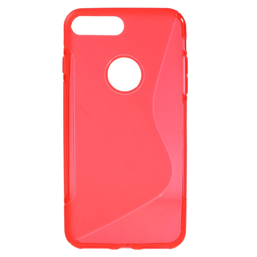 Image of   Apple iPhone 7/8 Plus InCover TPU S shape Cover - Rød