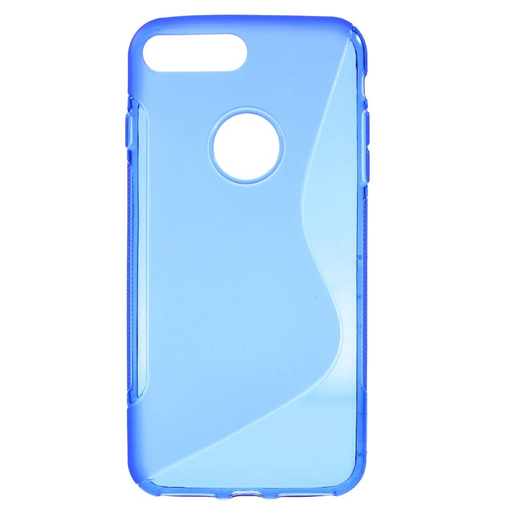 Billede af Apple iPhone 7/8 Plus InCover TPU S shape Cover - Blå