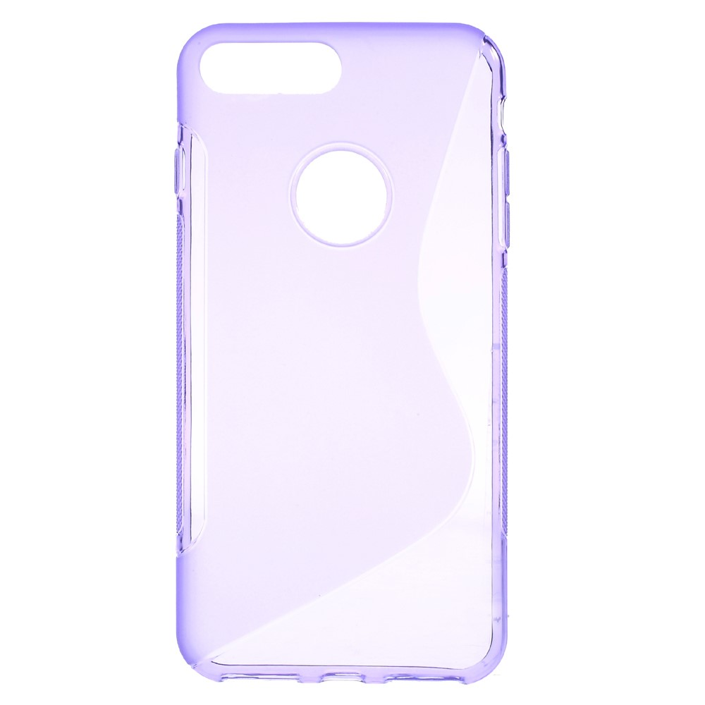 Billede af Apple iPhone 7/8 Plus InCover TPU S shape Cover - Lilla