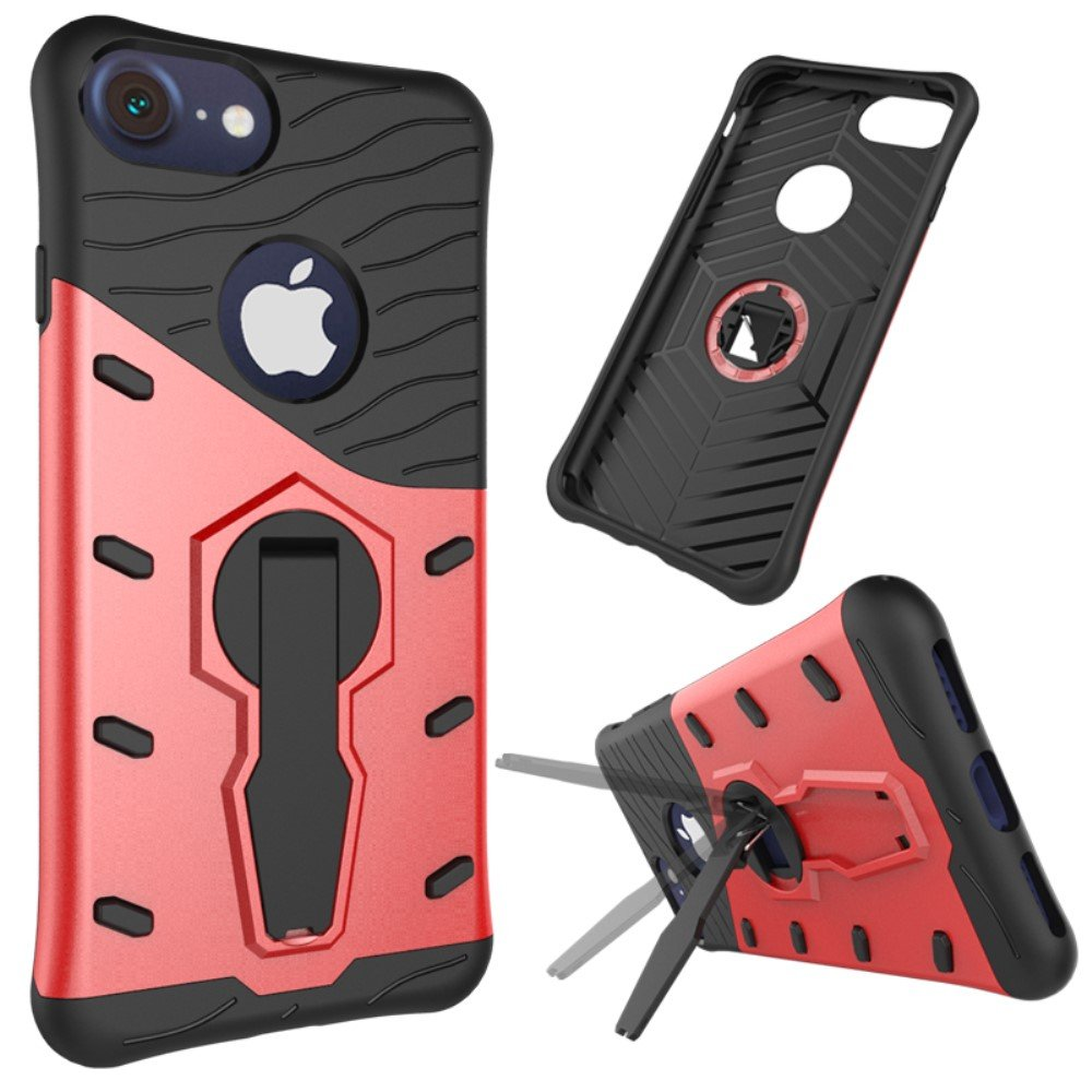 Image of   Apple iPhone 7/8 Plus InCover TPU Hybrid Cover - Rød