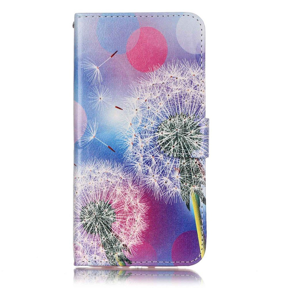 Image of   Apple iPhone 7/8 Plus PU læder FlipCover m. Kortholder - Dandelions