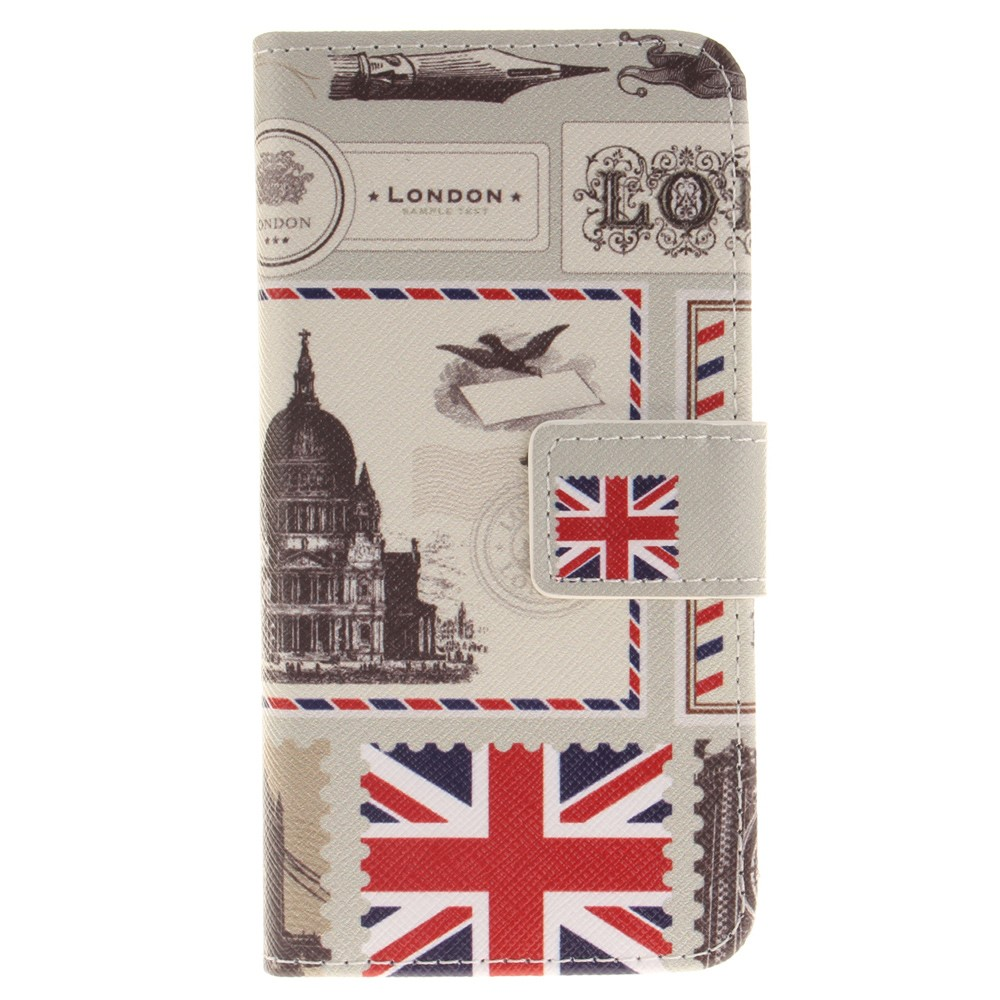 Image of   Apple iPhone 7/8 PU læder FlipCover m. Kortholder - London