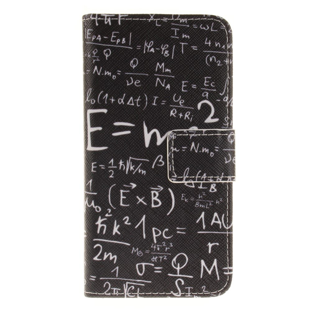 Image of   Apple iPhone 7/8 PU læder FlipCover m. Kortholder - Math
