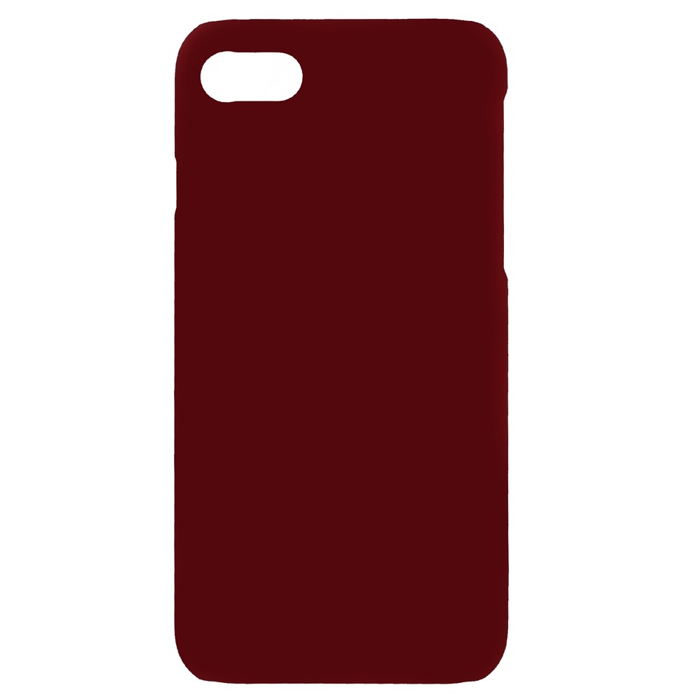Image of   Apple iPhone 7/8 InCover Mat Plastik Cover - Rød