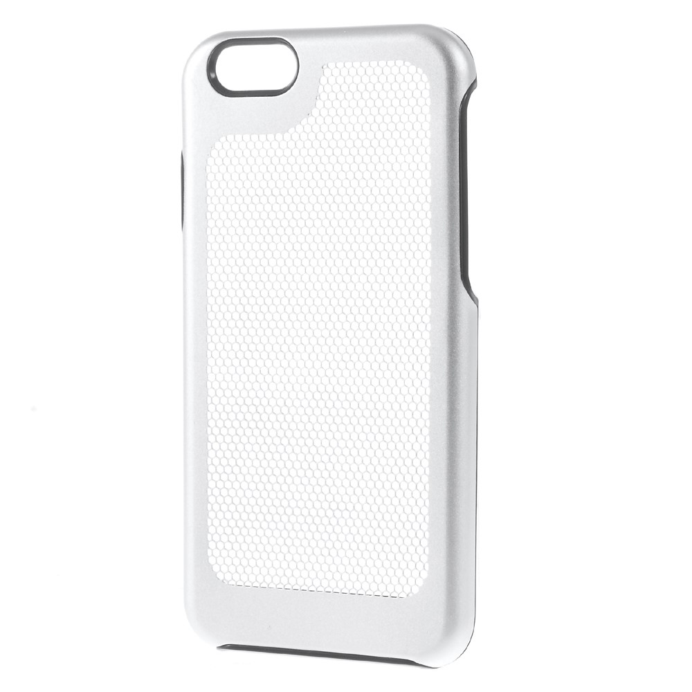 Image of   Apple iPhone 7/8 Plastik Udluftnings Cover - Sølv
