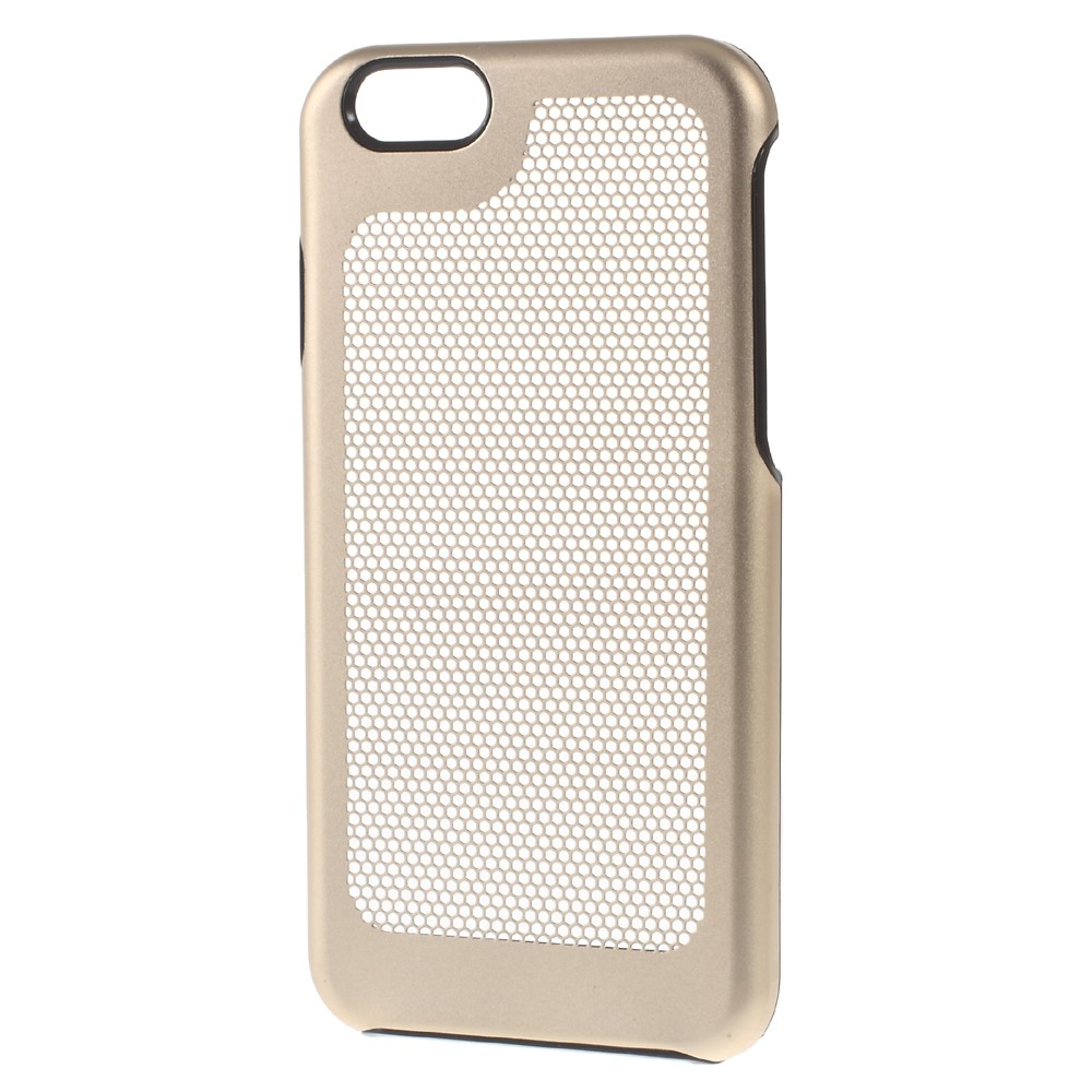 Image of   Apple iPhone 7/8 Plastik Udluftnings Cover - Guld