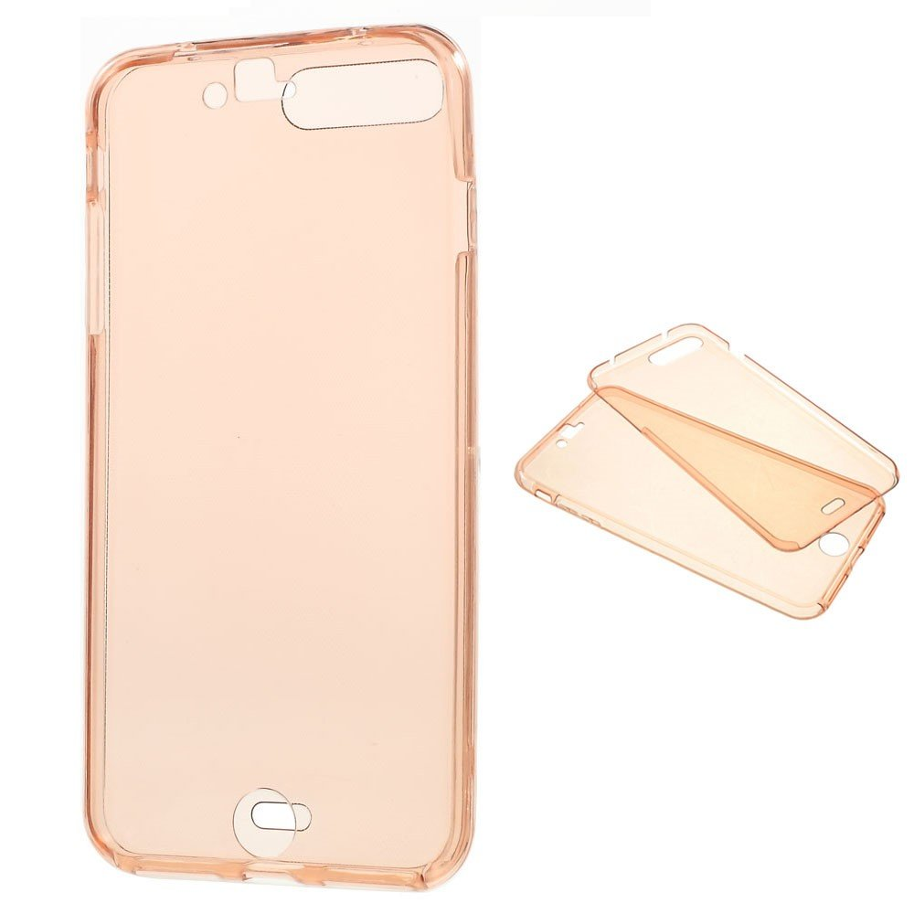 Image of   Apple iPhone 7/8 Plus InCover TPU For- og bagcover - Rosa/guld