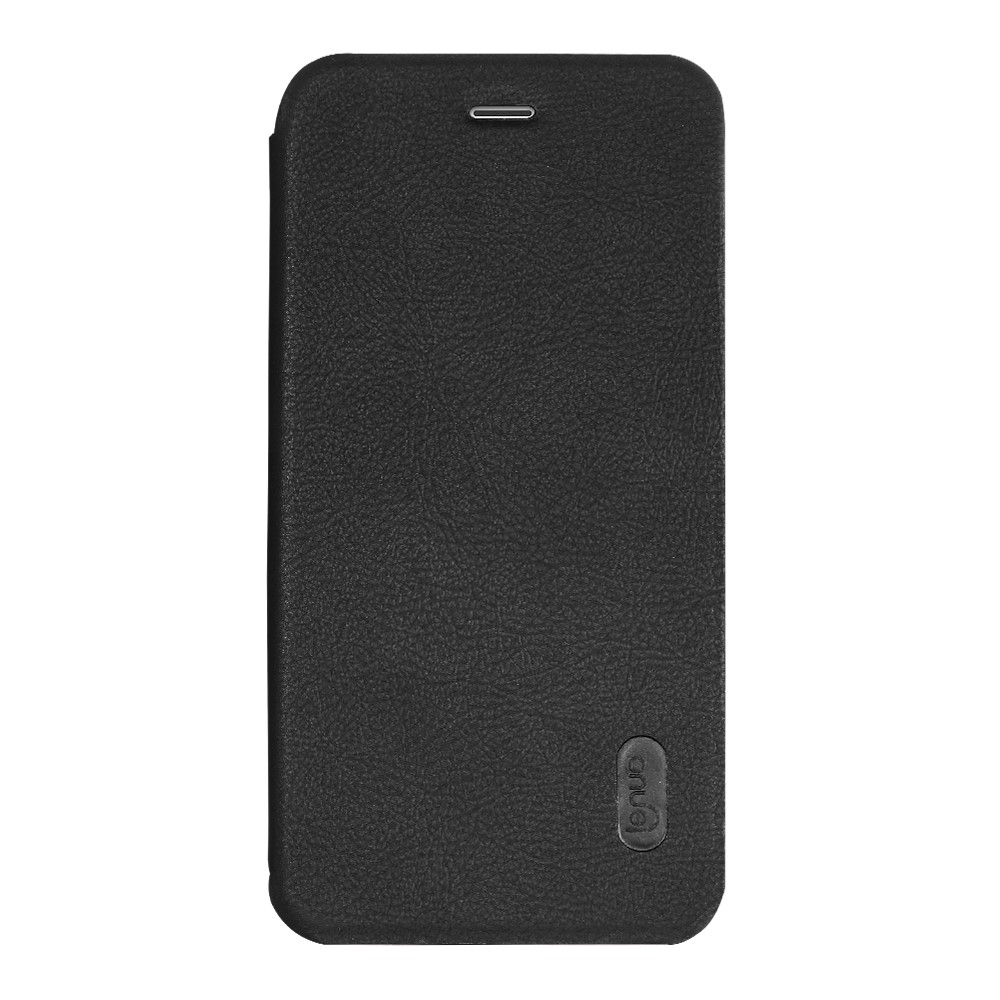 Image of   Apple iPhone 7 LENUO læder FlipCover - Sort