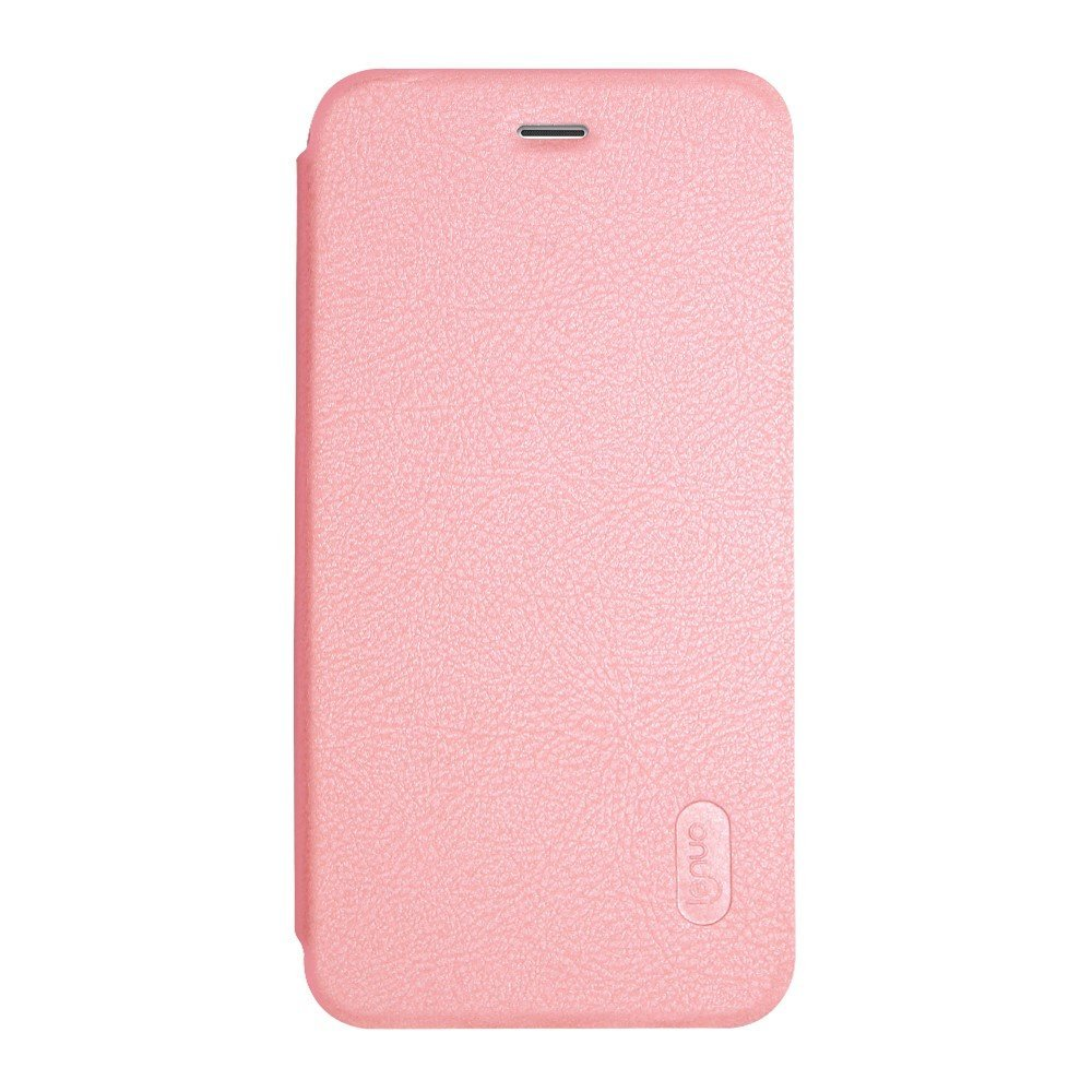 Image of   Apple iPhone 7 LENUO læder FlipCover - Pink