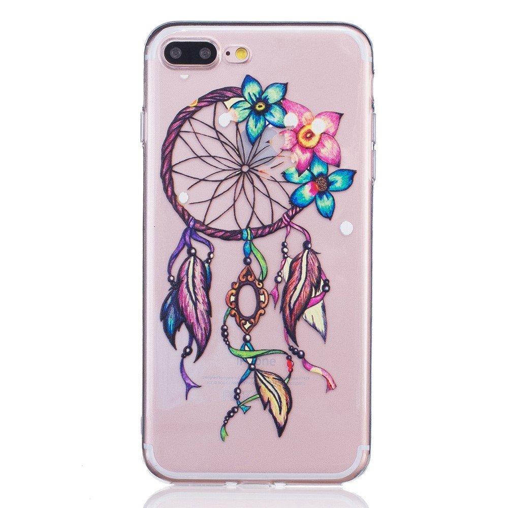 Apple iPhone 7/8 Plus InCover TPU Cover - Drømmefanger og blomster