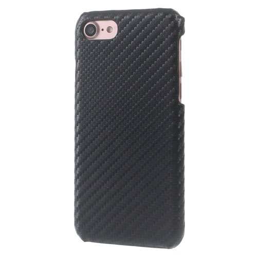 Image of   Apple iPhone 7/8 InCover PU læder Cover - Sort Carbon