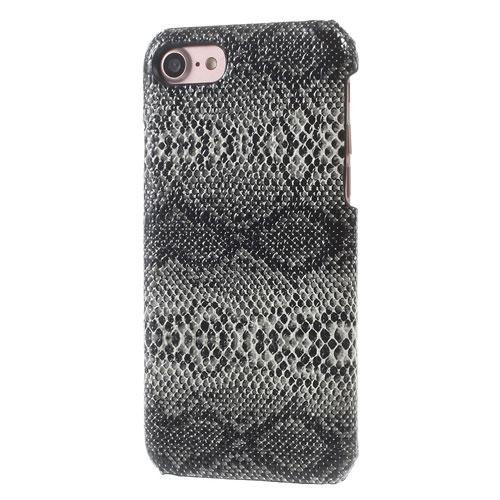 Image of   Apple iPhone 7/8 InCover PU læder Cover - Sort Slange