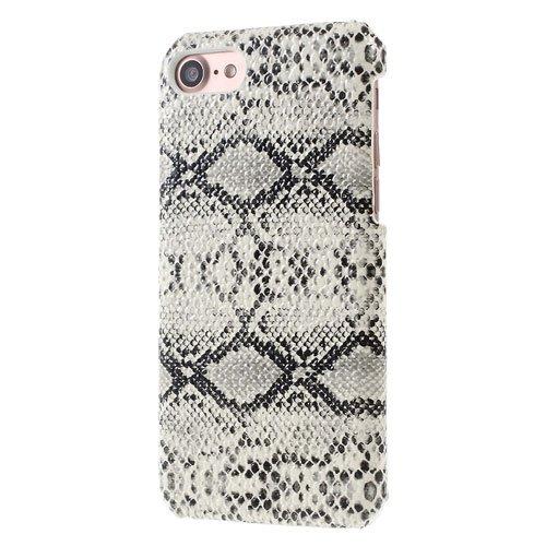 Image of   Apple iPhone 7/8 InCover PU læder Cover - Hvid Slange