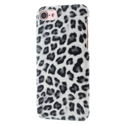 Image of   Apple iPhone 7/8 InCover PU læder Cover - Hvid leopard