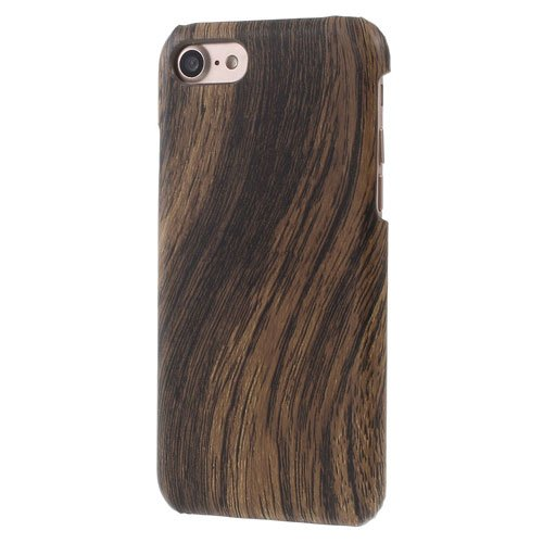 Image of   Apple iPhone 7/8 PU læder Cover - Coffee Træ