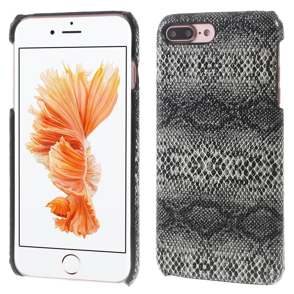 Image of   Apple iPhone 7/8 Plus InCover PU læder Cover - Sort Slange