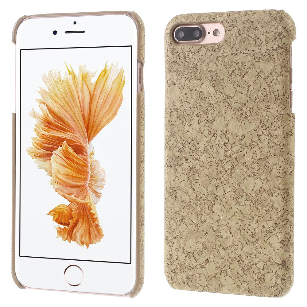 Image of   Apple iPhone 7/8 Plus InCover PU læder Cover - Kork
