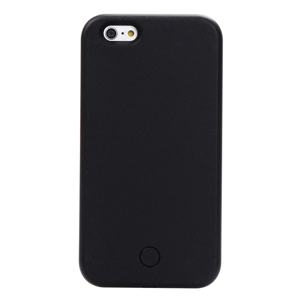 Apple iPhone 6/6s Plus Selfie Cover m. Lys - Sort