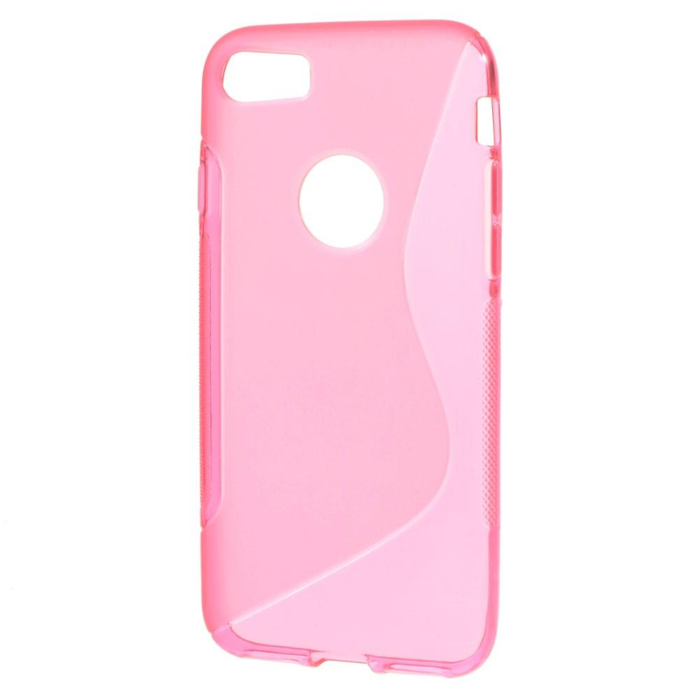 Billede af Apple iPhone 7/8 InCover TPU S shape Cover - Pink