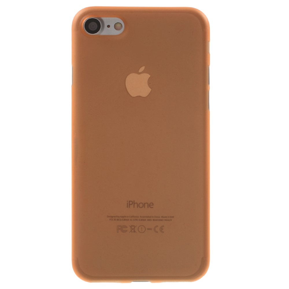 Image of   Apple iPhone 7/8 InCover Ultra Thin Plastik Cover - Orange