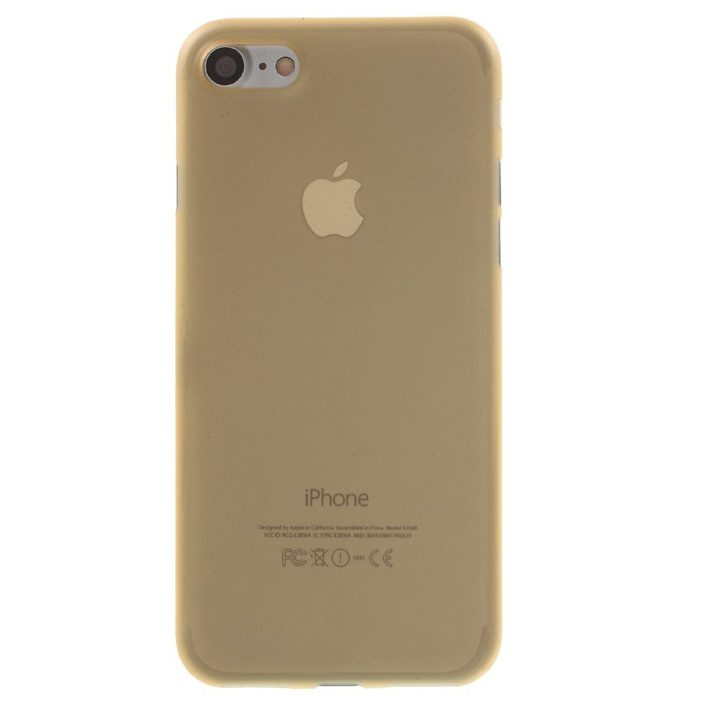 Image of   Apple iPhone 7/8 InCover Ultra Thin Plastik Cover - Guld