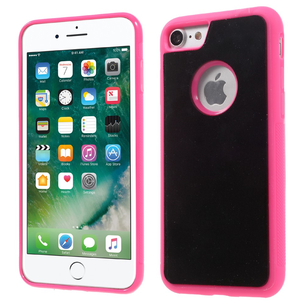 Billede af Apple iPhone 7 Plus MYFONLO Anti-Gravity Cover - Rosa/æble