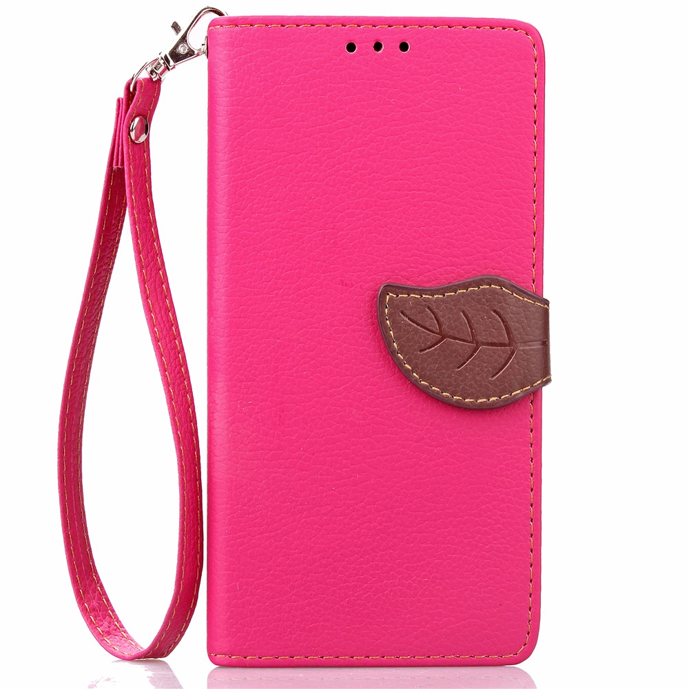 Image of   Apple iPhone 7/8 PU læder FlipCover m. Bladlukning - Rosa/brun