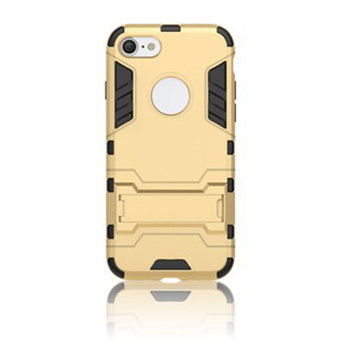 Image of   Apple iPhone 7/8 InCover TPU Hybrid Cover - Guld