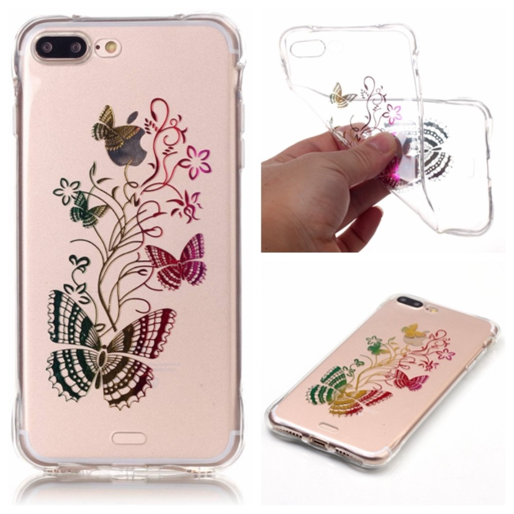 Image of   Apple iPhone 7/8 Plus InCover TPU Cover - Sommerfugle