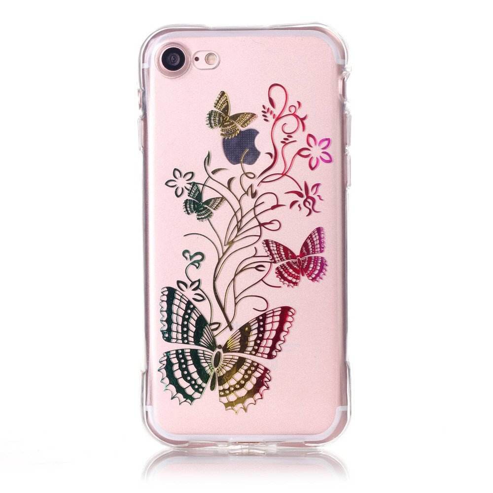 Image of   Apple iPhone 7/8 InCover TPU Cover - Sommerfugle