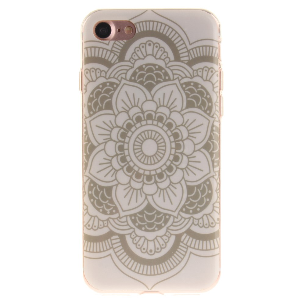 Image of   Apple iPhone 7/8 InCover TPU Cover - Henna Lotus