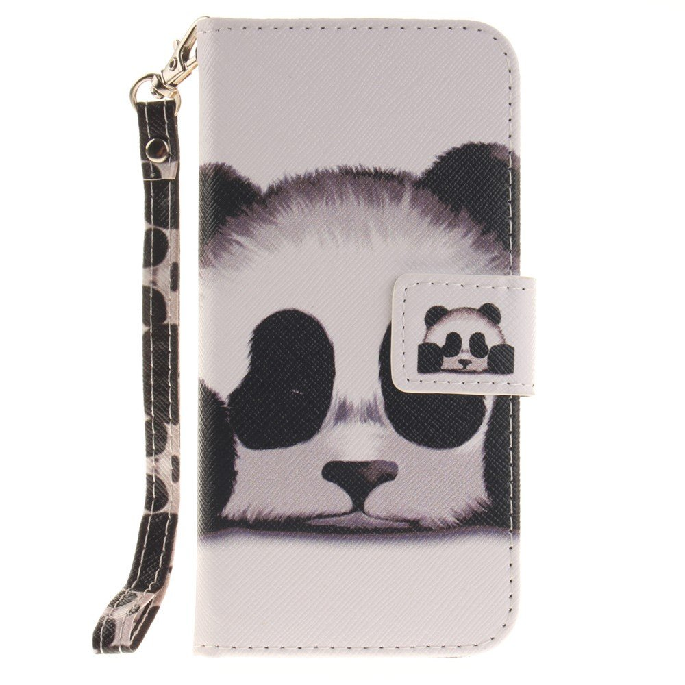 Image of   Apple iPhone 7/8 PU læder FlipCover m. Stand - Panda