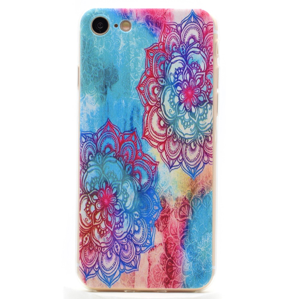 Image of   Apple iPhone 7/8 InCover TPU Cover - Henna mønster