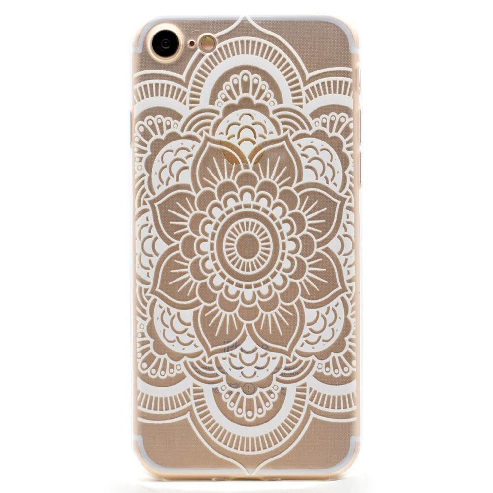 Image of   Apple iPhone 7/8 InCover TPU Cover - Henna blomst