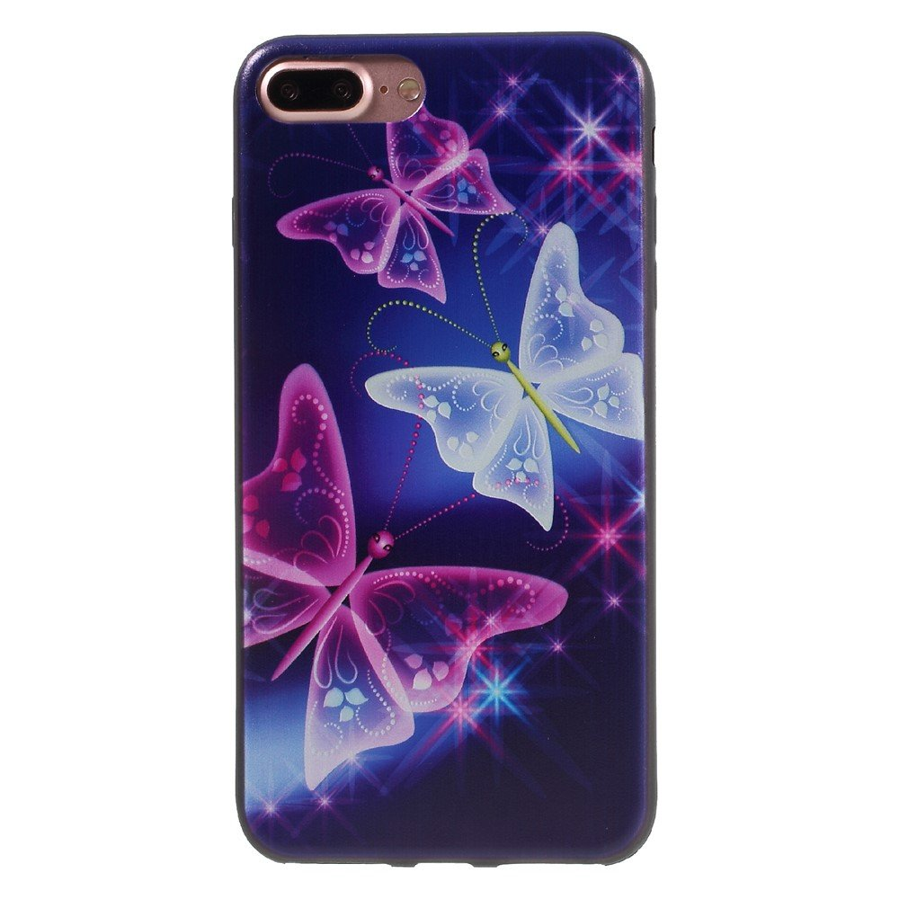 Image of   Apple iPhone 7/8 Plus InCover TPU Cover - Smukke sommerfugle