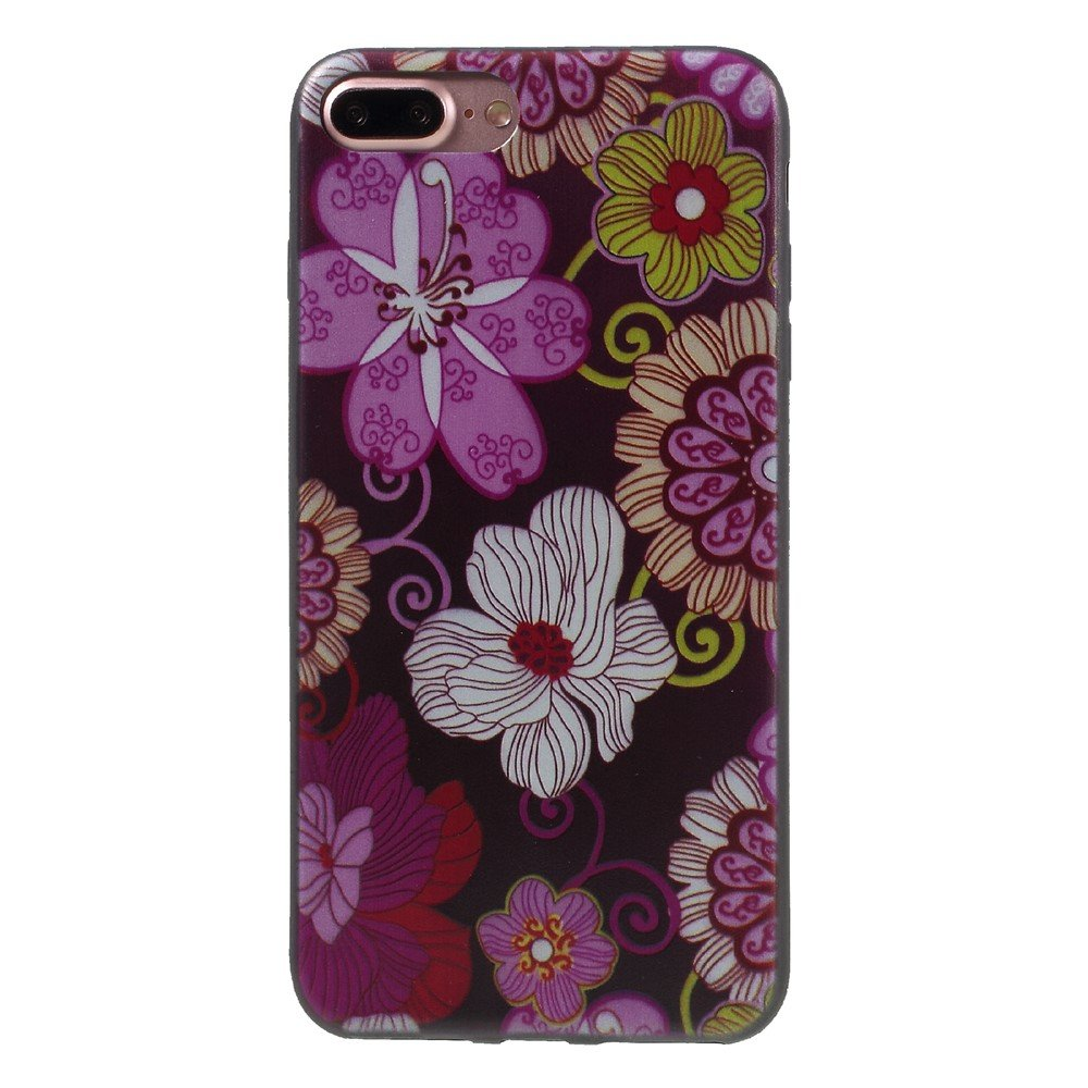 Image of   Apple iPhone 7/8 Plus InCover TPU Cover - Smukke blomster