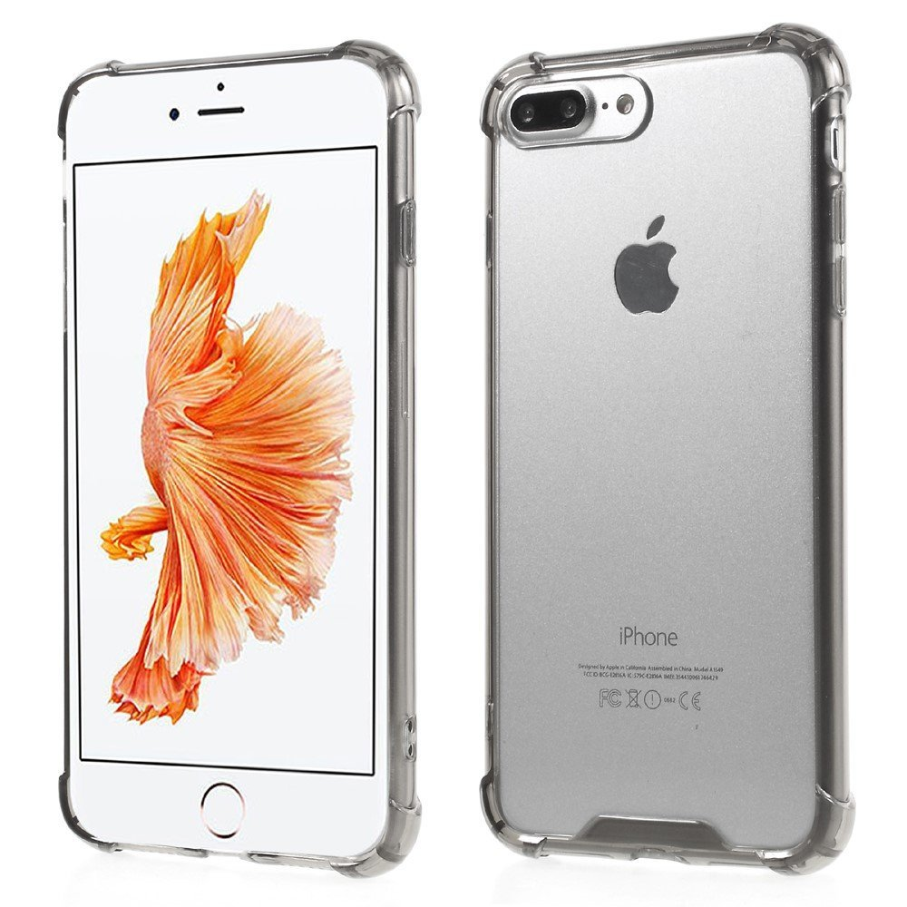 Billede af Apple iPhone 7/8 Plus TPU Drop-proof Cover - Grå